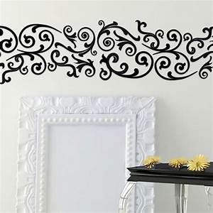 Pochoir Peinture Murale : pochoir frise arabesque emaisondeco ~ Premium-room.com Idées de Décoration