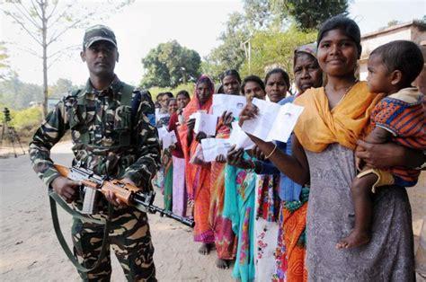 jharkhand polls ranchi registers lowest voting percentage rediffcom india news