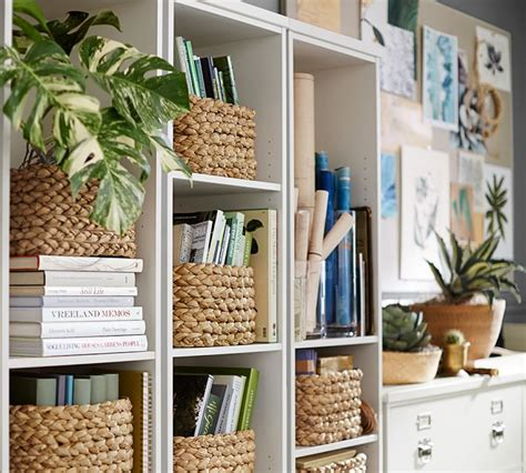 Decorating Bookshelves With Baskets ideas for decorating bookshelves