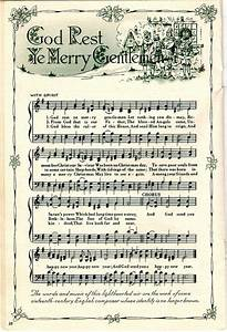 Christmas Carols printable | CHRISTMAS MUSIC | Pinterest