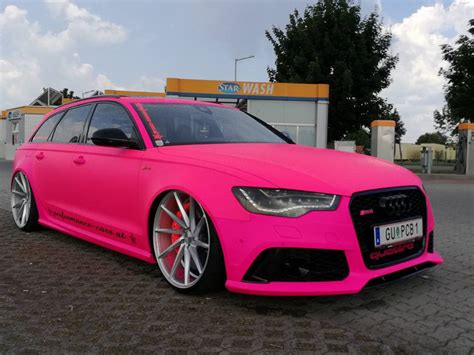 light pink audi audi q3 rear extrem krass performance cars at audi rs6 c7