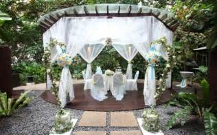 backyard wedding decor outdoor garden wedding ceremony decorations ideas 3 trendy mods