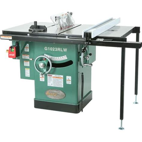 grizzly cabinet saw canada g1023rlw 10 quot 3 hp 220v cabinet left tilting table saw