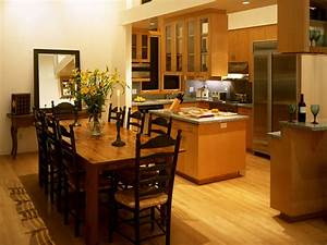 interior kitchen and dining room decobizzcom With simple kitchen and dining room design