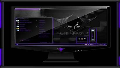 Alienware Deeppurple Space Theme