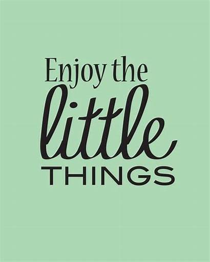 Mint Quote Enjoy Quotes Motywatory Frases Pequenas