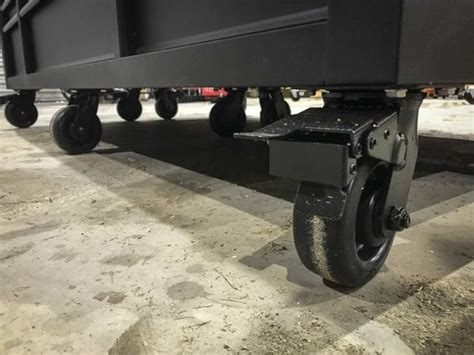 husky mobile workbench  adjustable height solid wood