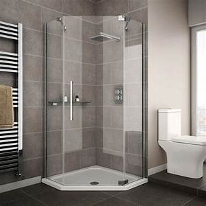 How to install a shower enclosure victorian plumbing for Shower cubicles for small bathrooms uk