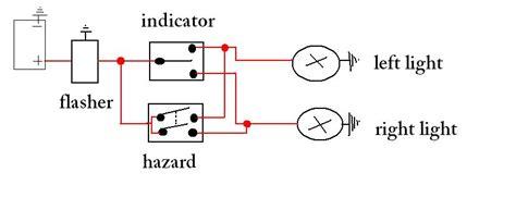 Indicator Light Wiring Diagram by Diagram Indicator Hazard Light Circuit