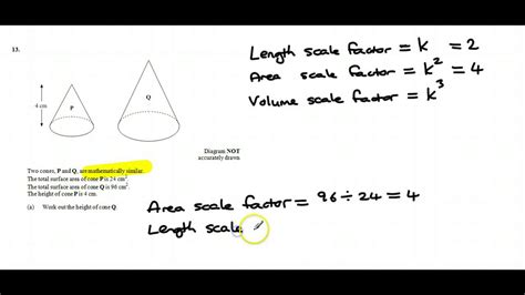 Length, Area And Volume Scale Factors Youtube