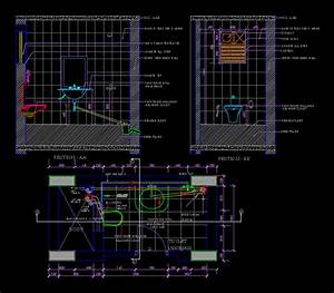 Toilet Detail DWG Section for AutoCAD • Designs CAD