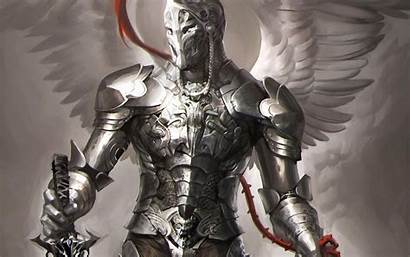 Knight Armor Robot Angel Fantasy Polish Hussar