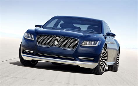 2016 Lincoln Continental Concept Wallpaper  Hd Car
