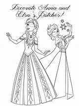 Coloring Patch Eye Frozen Anna Elsa Printable Kleurplaten Designlooter Disney Corrective sketch template