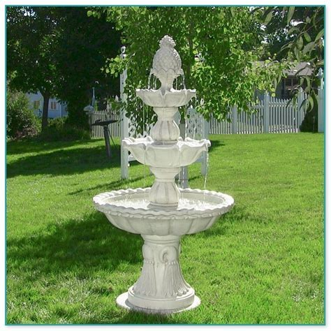 Outdoor Cascading Water Fountains