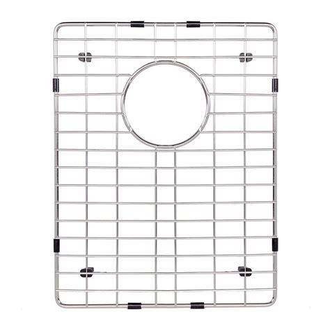 kitchen sink bottom grid vigo 16 25 in x 12 75 in kitchen sink bottom grid