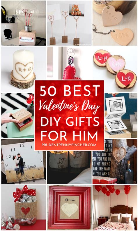 Valentine's day gifts to him means a lot because after his mom his girlfriend is the only one who takes care of him and gets happy in his happiness and she is with him in every phase of life, if you want to make her your permanent life partner. 50 DIY Valentines Day Gifts for Him - Prudent Penny Pincher