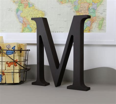Standing Letter Decor - wood letters free standing distressed wooden letters