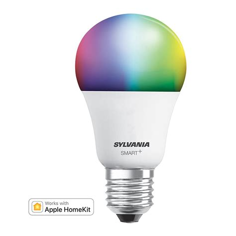 sylvania smart bluetooth color a19 smart led light