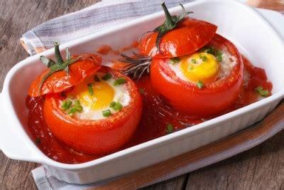 tomates farcies  loeuf recette legumes supertoinette