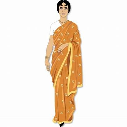 Indian Clipart Woman India Clip Mother Village