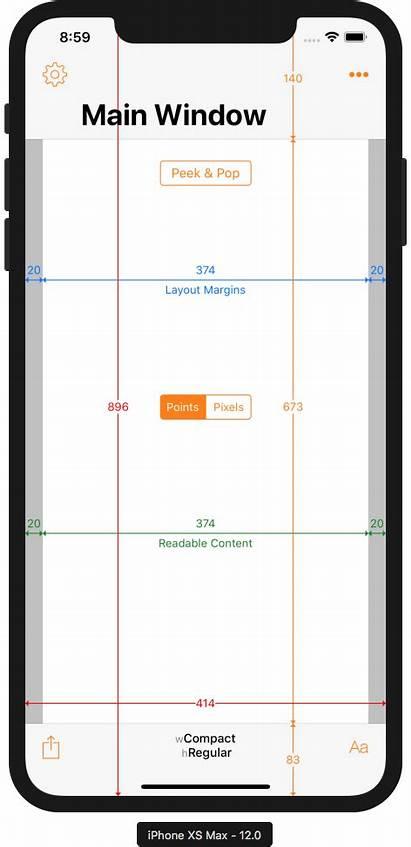 Max Iphone Xs Ios Xr Screen Sizes
