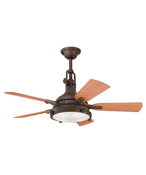 kichler 310101 hatteras bay 44 inch ceiling fan with light