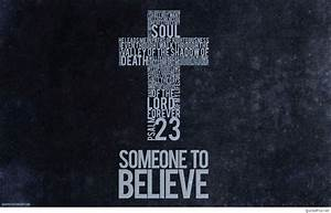 Religious cross... Christian Background Quotes