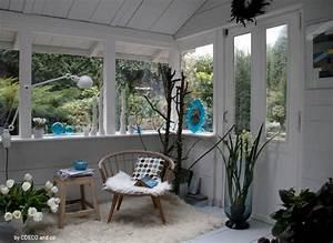 amenagement d39une veranda pour la saison d39hiver With amenagement interieur d une veranda