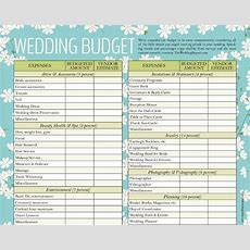 Wedding Budget Template  13+ Free Word, Excel, Pdf Documents Download!  Free & Premium Templates