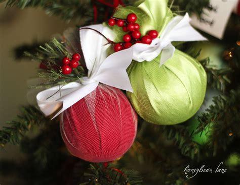 how to make an easy christmas ornament honeybear lane