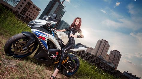 Hd Wallpapers Motorcycles And Girls