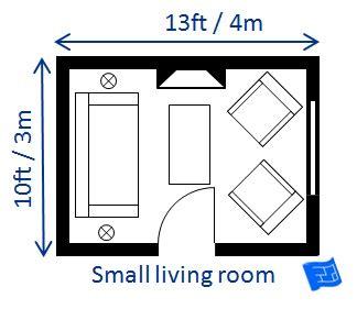 small living room size home decor ideas
