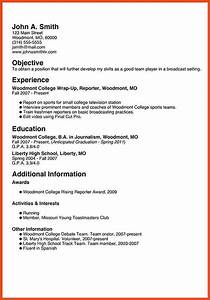 my first resume moa format With my first resume template free