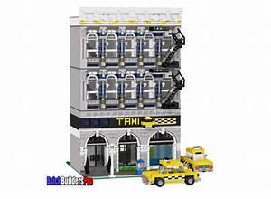 Taxi Company Custom Lego Instructions