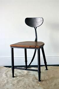 Chaise Style Industriel : chaise style industriel ~ Teatrodelosmanantiales.com Idées de Décoration