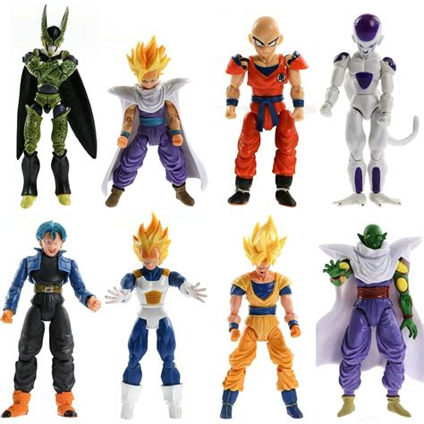 In 1996, dragon ball z grossed $2.95 billion in merchandise sales worldwide. Dragon Ball 8x Action Figures: Super Saiyan Goku Gohan ...