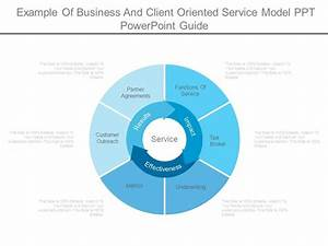 Example Of Business And Client Oriented Service Model Ppt