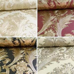 ARTHOUSE VINTAGE FIGARO ITALIAN DAMASK PATTERN TEXTURED ...