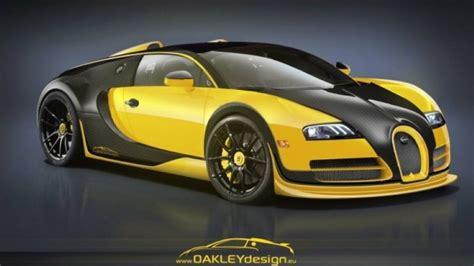 White black red green blue yellow magenta cyan. First Oakley Design modified Bugatti Veyron | DPCcars