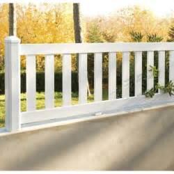 cloture pvc triton blanc x l180 cm leroy merlin With superb leroy merlin terrasse et jardin 0 garde corps blanc leroy merlin