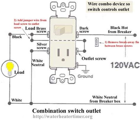 How Wire Combo Device Wireing Switch