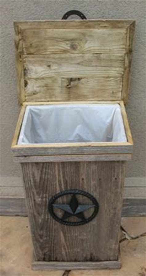 Wood Garbage Can Holder   WoodWorking Projects & Plans