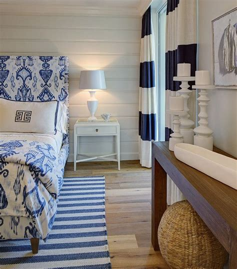 beach house bedroom blue  white bedroom coastal decor