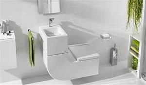 Petit Lave Main Wc : 5 w c lave mains pour gagner de la place aux toilettes ~ Premium-room.com Idées de Décoration