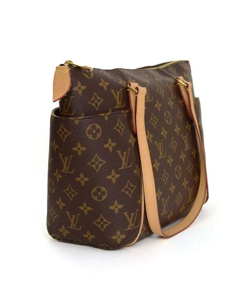 louis vuitton monogram canvas totally pm tote bag ghw