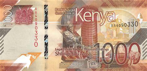 kenya      shillings   notes p