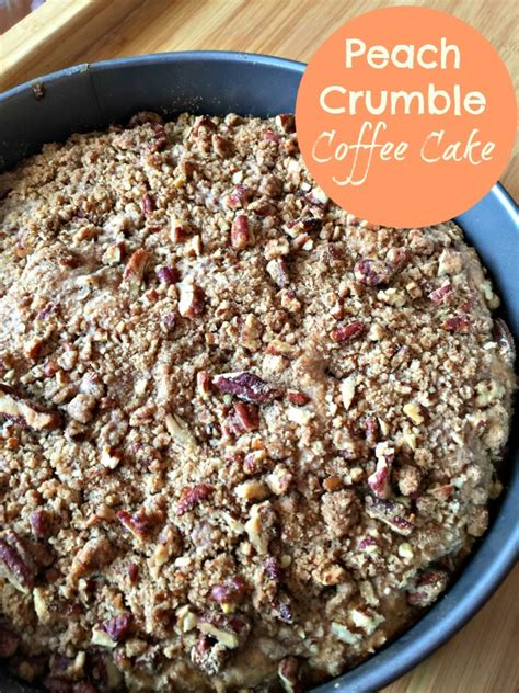 1567 south piazza drive, bloomington, in. Peach Crumble Coffee Cake | Recipes and Ramblings with the Tumbleweed Contessa