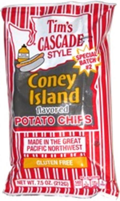 tims cascade style coney island potato chips