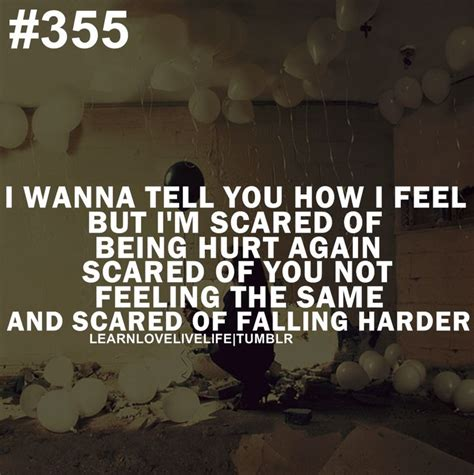 scared of being hurt again quotes quotesgram